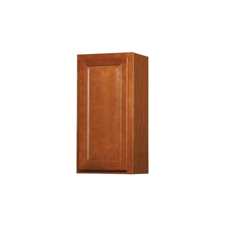 Shop diamond now cheyenne 15 in w x 30 in h x 12 in d for Cheyenne kitchen cabinets lowes