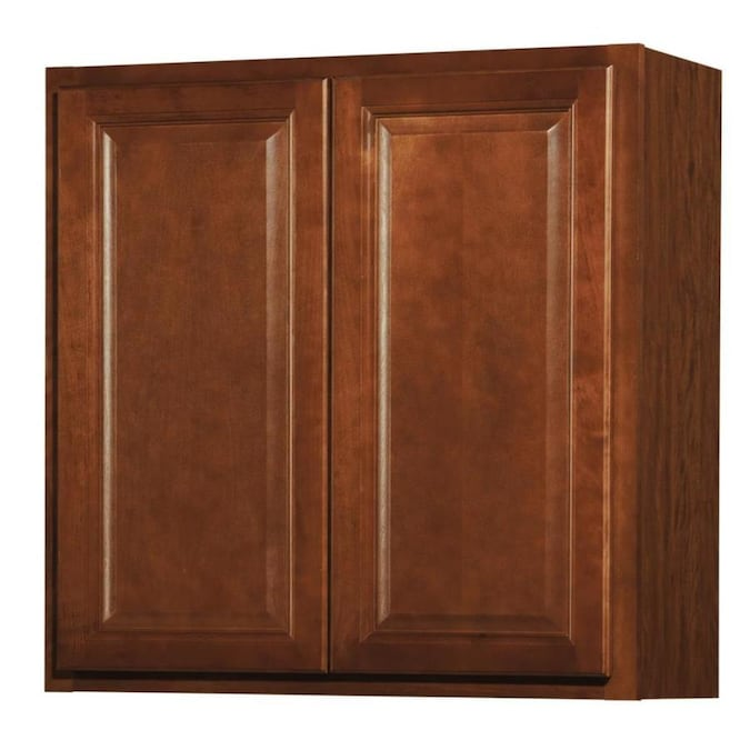 Kitchen Classics Cheyenne 30 In W X 30 In H X 12 In D Saddle Door Wall Cabinet In The Stock Kitchen Cabinets Department At Lowes Com