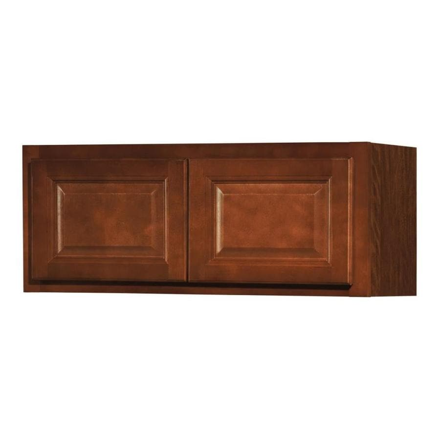 shop kitchen classics cheyenne 30 in w x 12 in h x 12 in d saddle door wall cabinet at. Black Bedroom Furniture Sets. Home Design Ideas