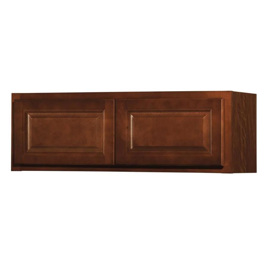 shop kitchen classics cheyenne 36 in w x 12 in h x 12 in d saddle door wall cabinet at. Black Bedroom Furniture Sets. Home Design Ideas