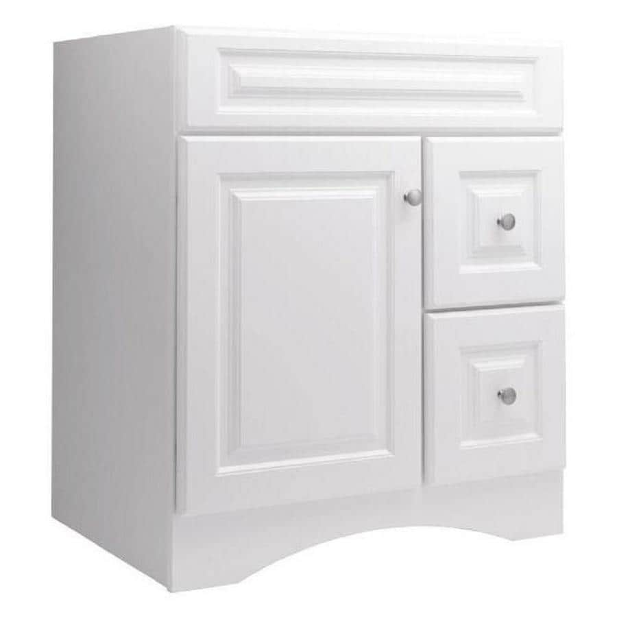 Bathroom Vanity 30 X 21 shop style selections northrup white bathroom vanity (common: 30