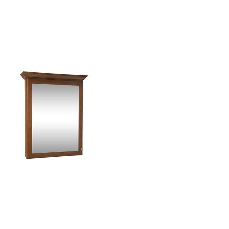 Shop allen + roth Northrup 30-in x 37-in Surface Medicine Cabinet ...