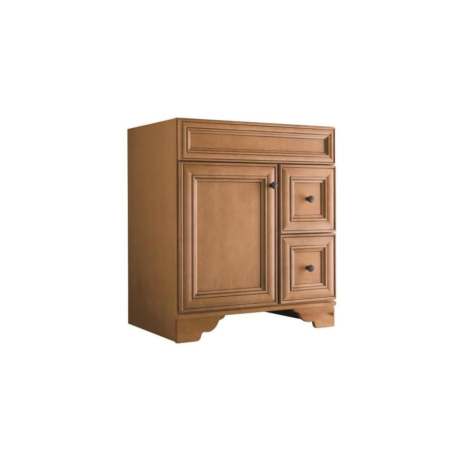 Style Selections Ryerson Golden Traditional Bathroom Vanity (Common: 30 In X  21