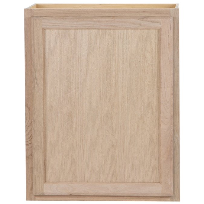 Project Source 24-in W x 30-in H x 12-in D Natural ...