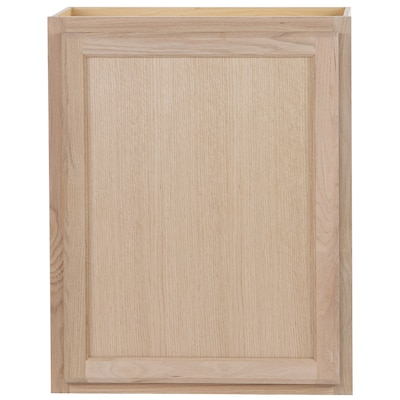 24-in W x 30-in H x 12-in D Unfinished Door Wall Stock Cabinet