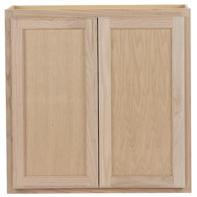 30-in W x 30-in H x 12-in D Unfinished Door Wall Stock Cabinet