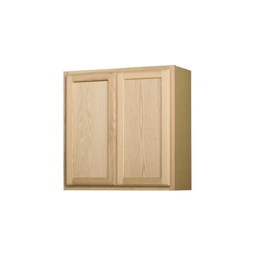 30-in W x 30-in H x 12-in D Unfinished Unfinished Door Wall Stock Cabinet