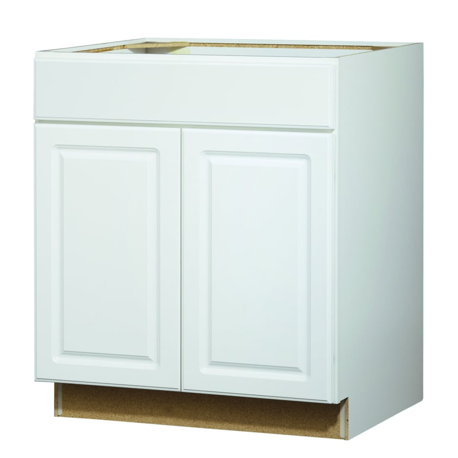 White Kitchen Cabinets Lowes: Kitchen Classics Concord 30-in W X 35-in H X 23.75-in D