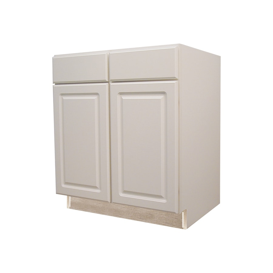 Kitchen Classics 35 In H X 36 In W X 23 3 4 In D Concord White Door And Drawer Base Cabinet At Lowes Com