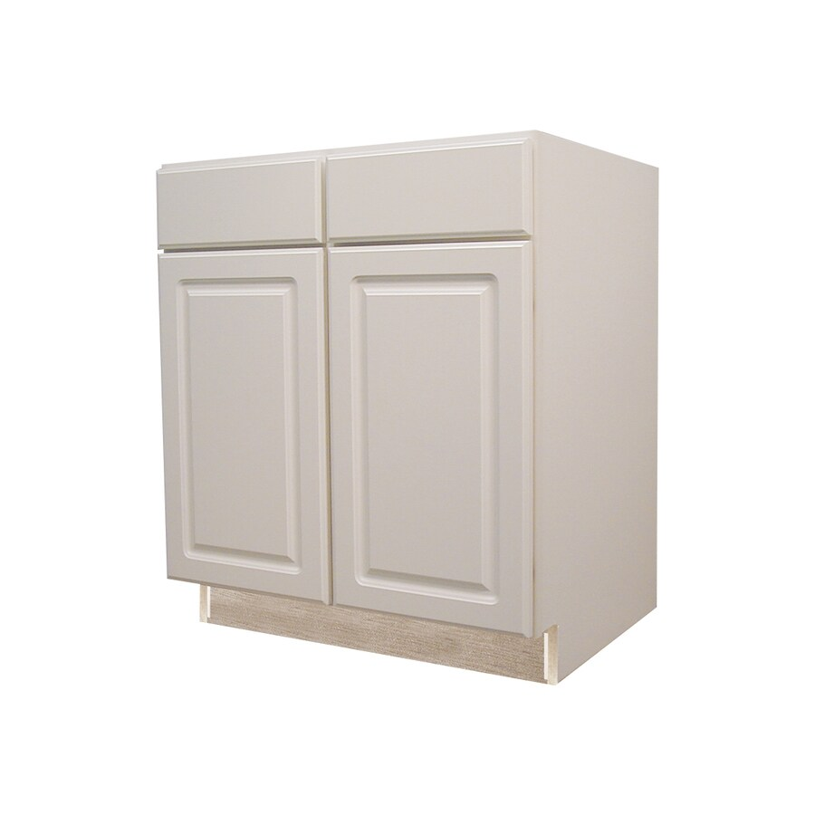 White Kitchen Cabinets Lowes: Kitchen Classics 35-in H X 36-in W X 23-3/4-in D Concord