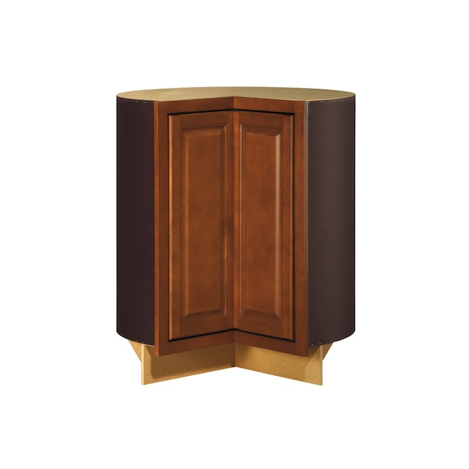 Kitchen Classics 35 In H X 30 3 4 In W X 23 3 4 In D Cheyenne Saddle Lazy Susan Base Cabinet At Lowes Com