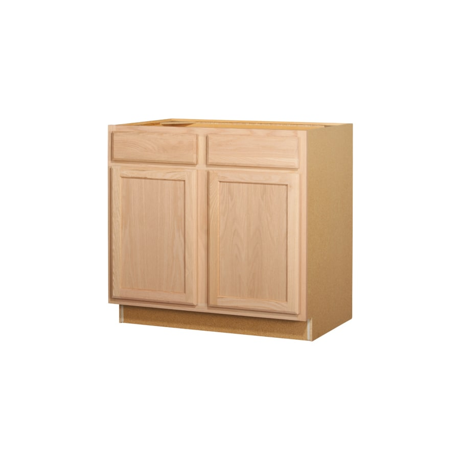 Shop Kitchen Classics 36-in W x 35-in H x 23.75-in D Unfinished ...