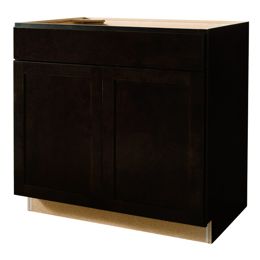 Kitchen Base Cabinets: Kitchen Classics Brookton 36-in W X 35-in H X 23.75-in D