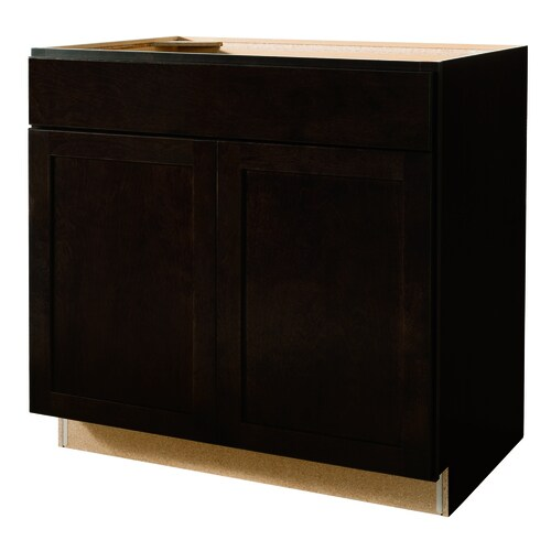 Lowe S Kitchen Base Cabinets: Diamond NOW Brookton 36-in W X 35-in H X 23.75-in D