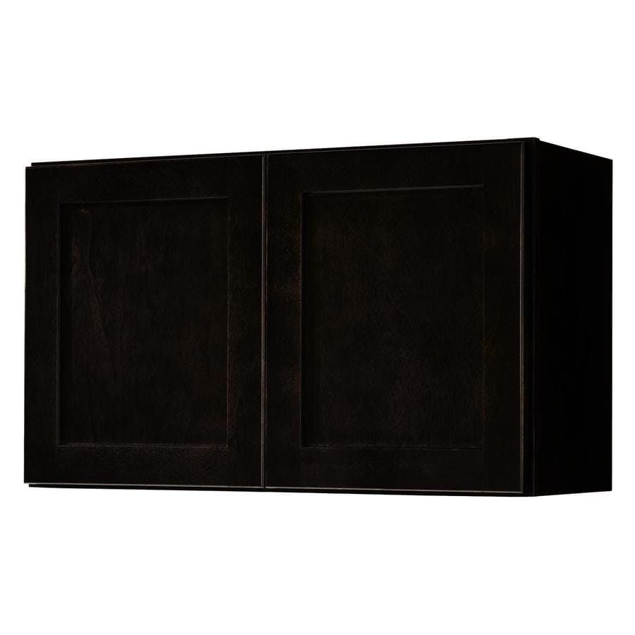 shop diamond now brookton 30-in w x 18-in h x 12-in d espresso door