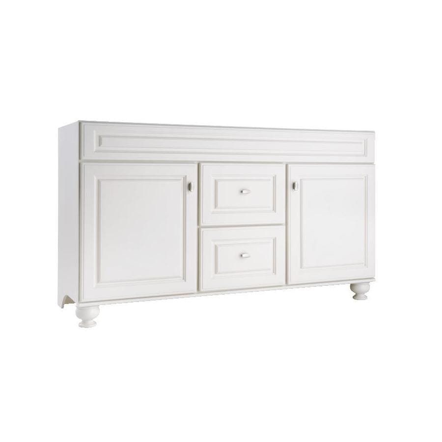 Diamond FreshFit Britwell Cream 60-in Traditional Bathroom Vanity