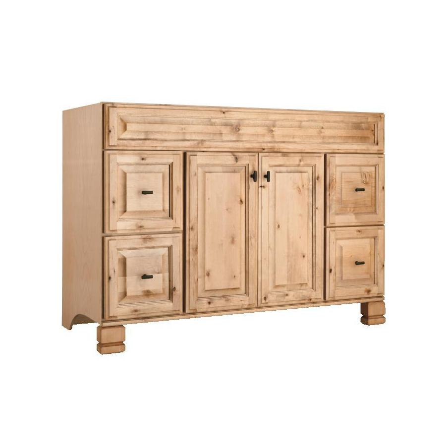 Shop style selections collingwood natural traditional bathroom vanity common 48 in x 21 in Home hardware furniture collingwood