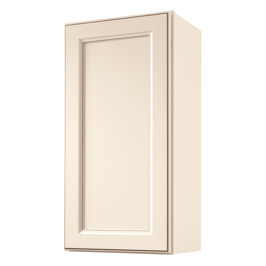 Diamond NOW Caspian 15-in W x 30-in H x 12-in D TrueColor Toasted Antique Door Wall Cabinet