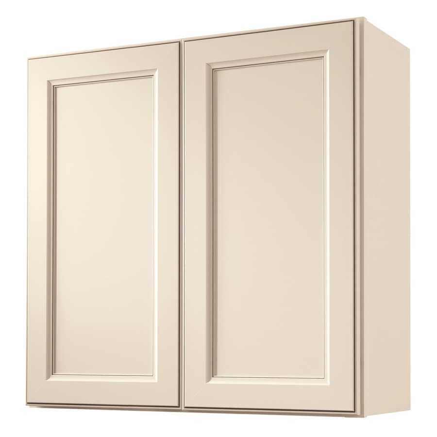 Shop diamond now caspian 30 in w x 30 in h x 12 in d for Diamond kitchen cabinets