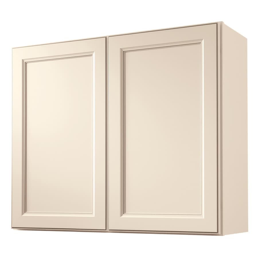 Diamond NOW Caspian 36-in W x 30-in H x 12-in D TrueColor Toasted Antique Door Wall Cabinet