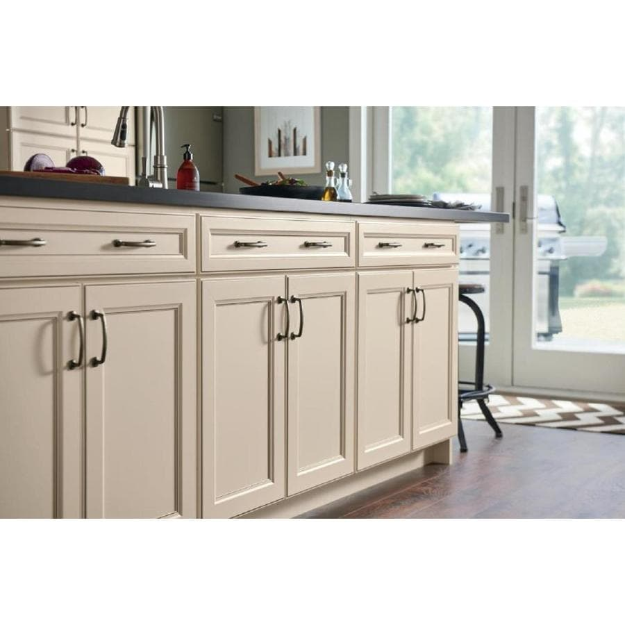 Diamond Now Caspian 30 In W X 35 In H X 23 75 In D Toasted Antique Sink Base Stock Cabinet In The Stock Kitchen Cabinets Department At Lowes Com