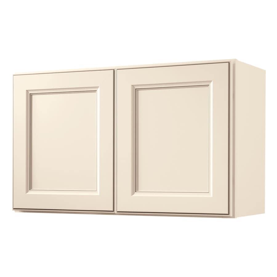 Diamond NOW Caspian 30-in W x 18-in H x 12-in D TrueColor Toasted Antique Door Wall Cabinet