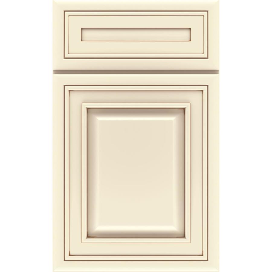 Diamond Caldwell 14.75-in x 14.75-in Toasted Almond Maple Square Cabinet Sample