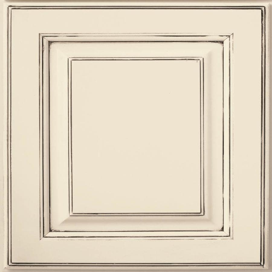 Diamond Henderson 14.75-in x 14.75-in Amaretto Creme Maple Square Cabinet Sample