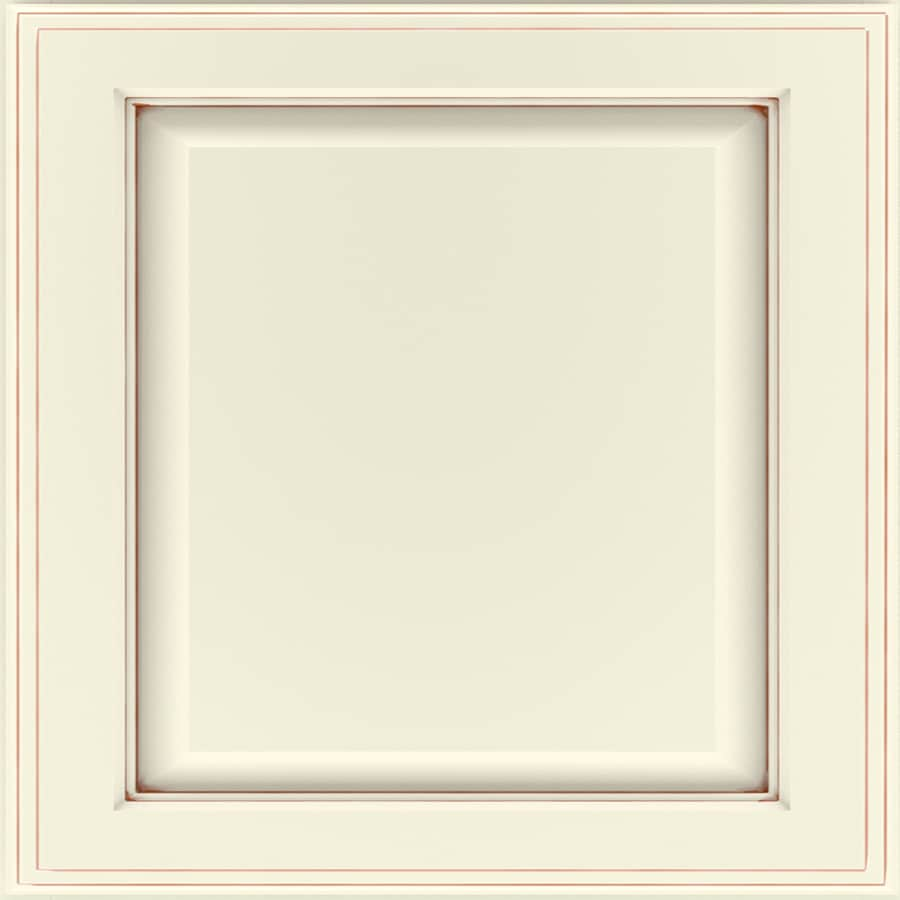Diamond Reflections Anaheim 14.75 In X 14.75 In Toasted Almond Painted  Maple Raised Panel