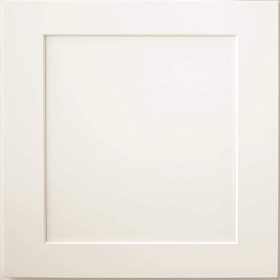 Diamond Jamestown 14.75-in x 14.75-in White Painted Maple Square Cabinet Sample