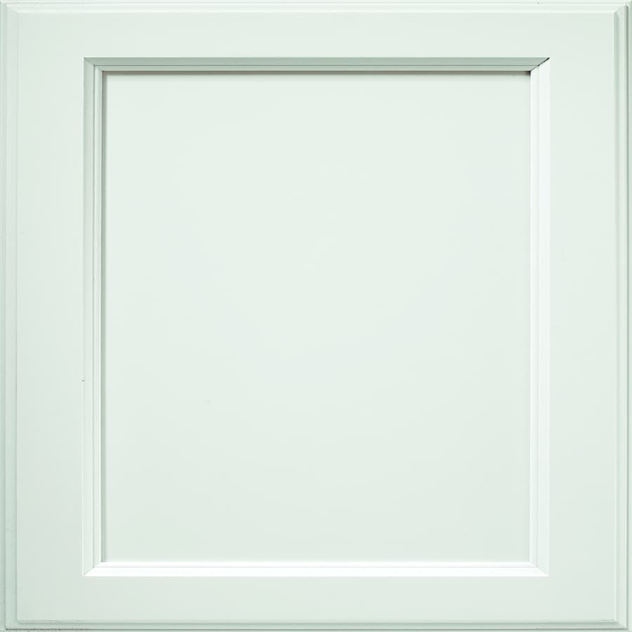 Diamond Amhearst 14.75-in x 14.75-in White Maple Square Cabinet Sample