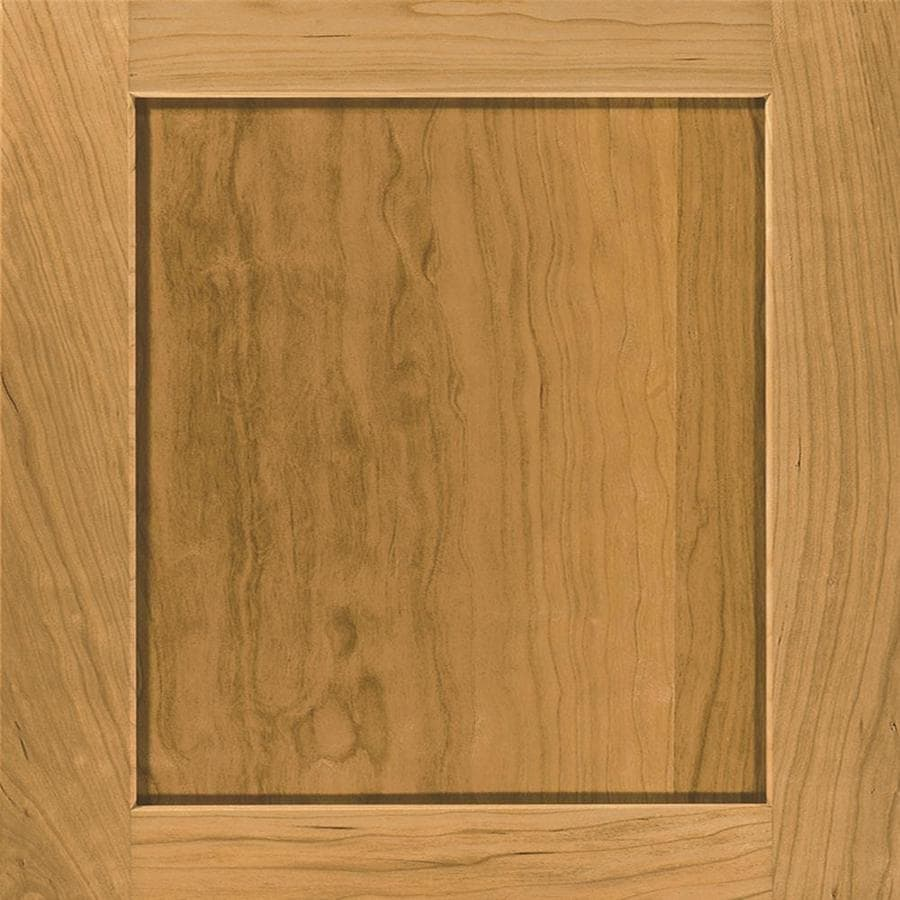 Diamond Jamestown 14.75-in x 14.75-in Natural Cherry Square Cabinet Sample