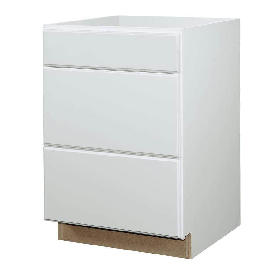 White Kitchen Cabinets Lowes: Shop Kitchen Classics Concord 24-in W X 35-in H X 23.75-in