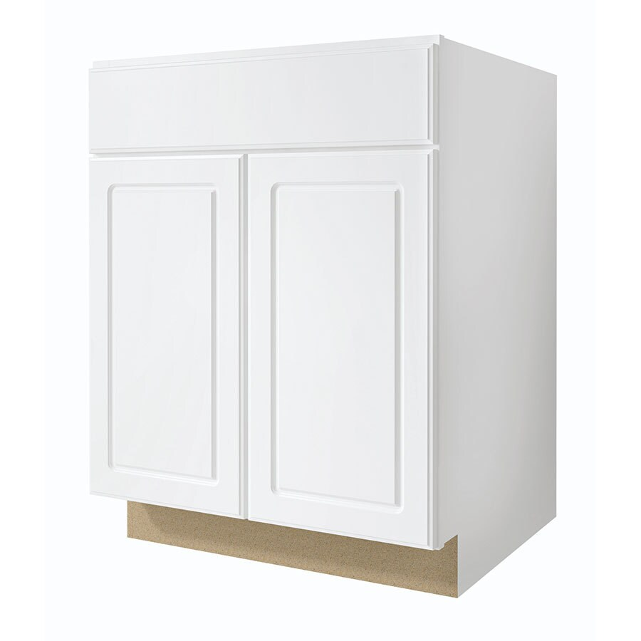 Kitchen Classics Concord 27 In W X 35 In H X 23 75 In D Finished Concord Door And Drawer Base Cabinet At Lowes Com