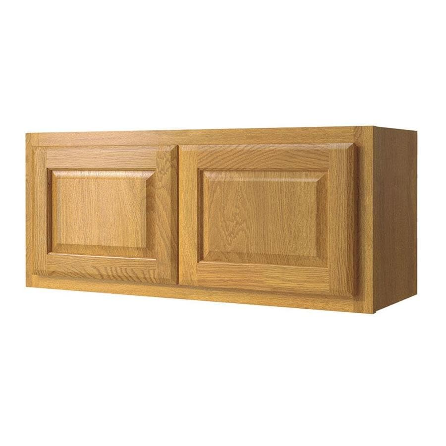 Diamond NOW Portland 14 In H X 12 In D Wheat Door Wall Cabinet