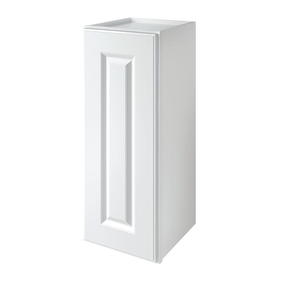 Kitchen Classics Waterford 12-in W x 30-in H x 12-in D Finished White Single Door Kitchen Wall Cabinet