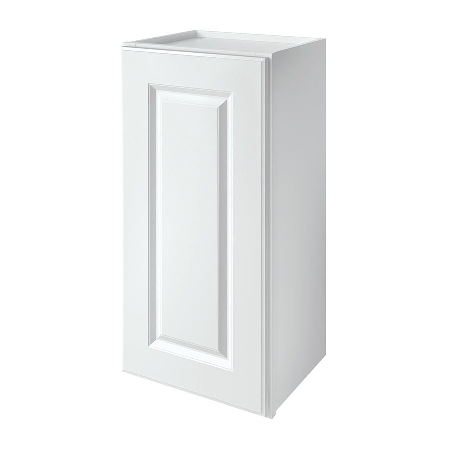 Shop kitchen classics waterford 15 in w x 30 in h x 12 in for Kitchen cabinets lowes with single stickers