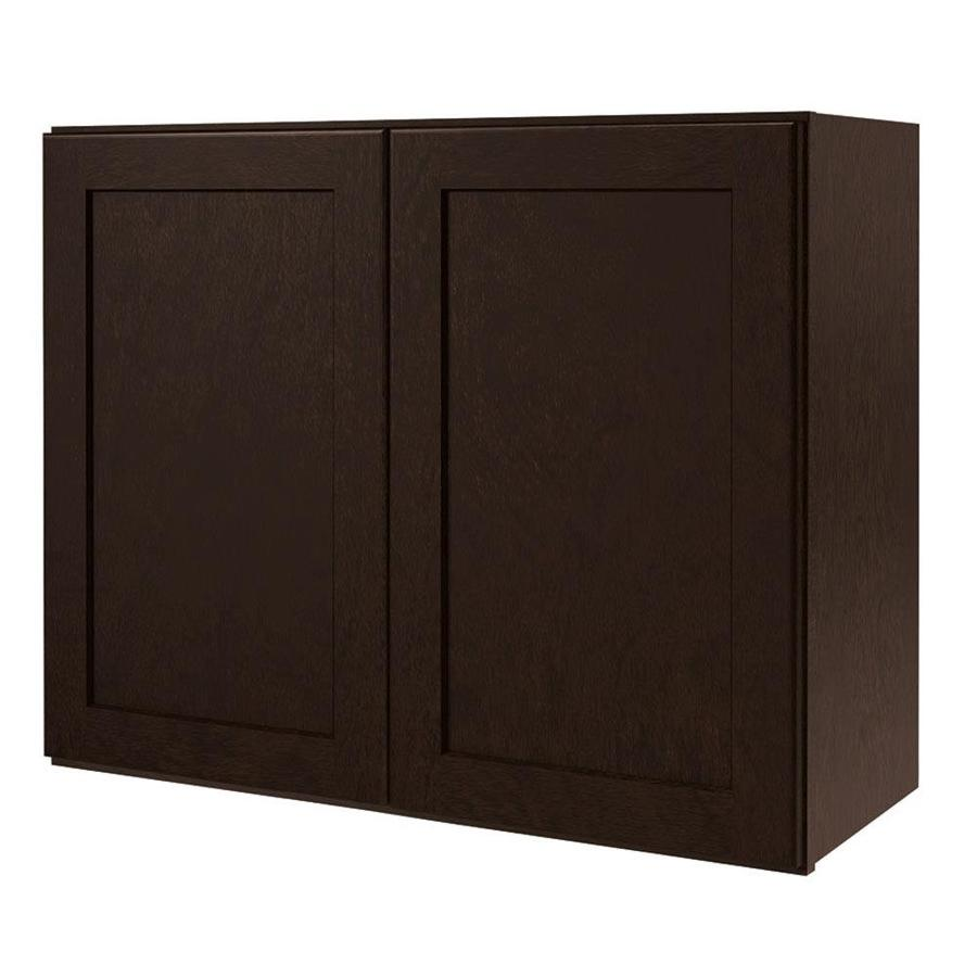 Shop diamond now brookton 30 in w x 24 in h x 12 in d for Kitchen cabinets 30 x 24