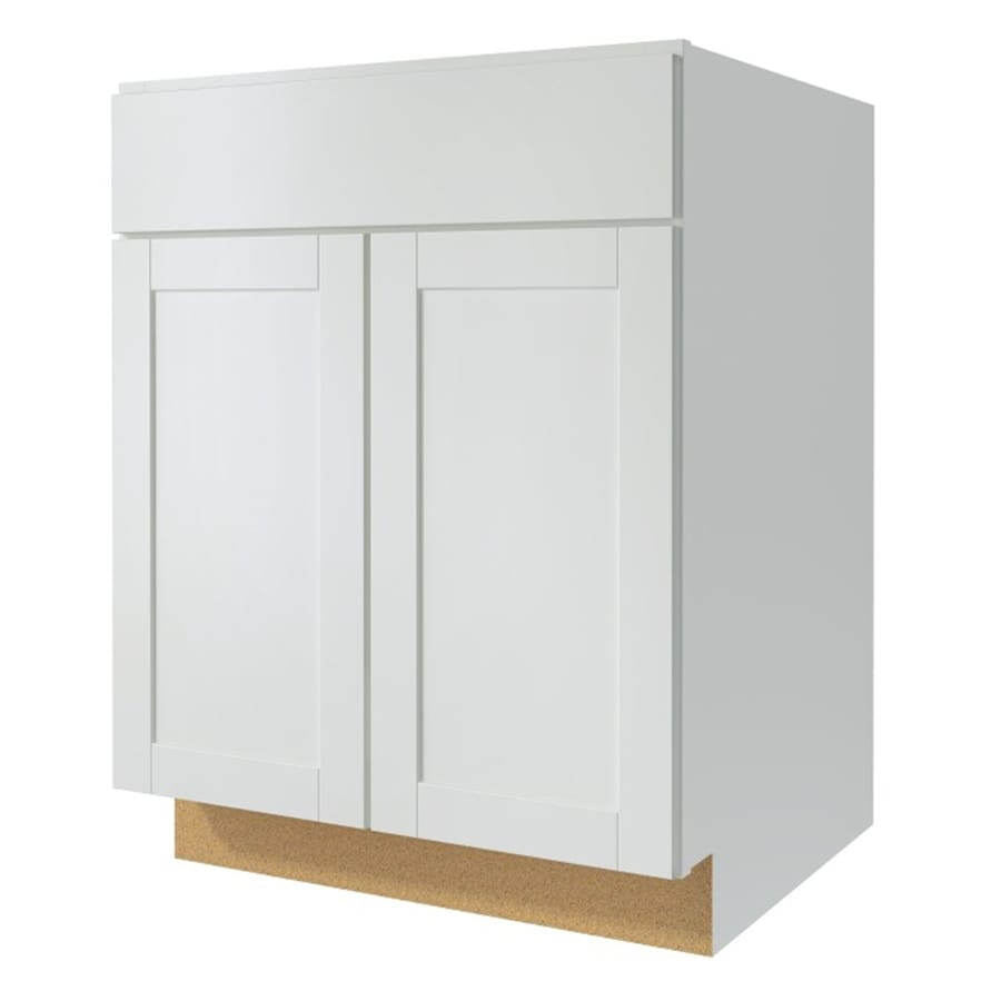 finished kitchen cabinet doors shop kitchen classics 27 in w x 35 in h x 23 75 in d 15424