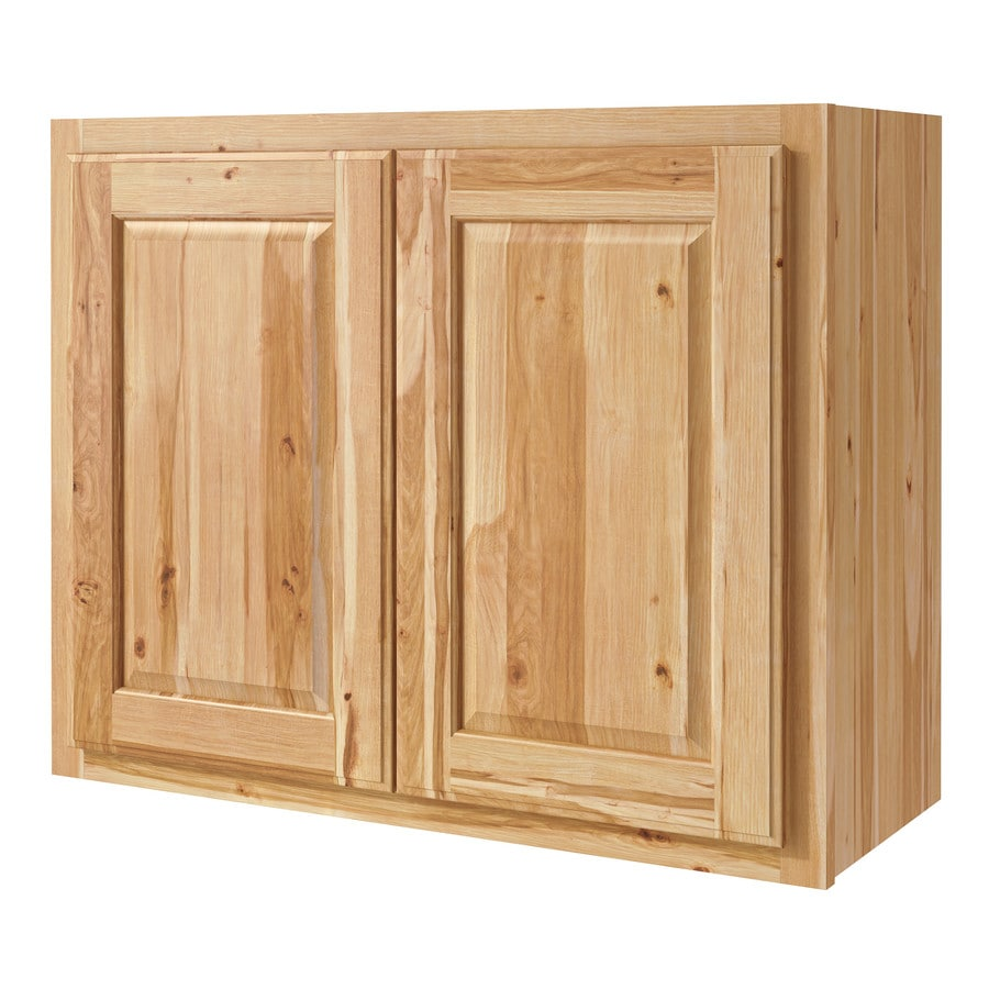 Kitchen Classics Denver 30-in W x 24-in H x 12-in D Hickory Door Wall Cabinet