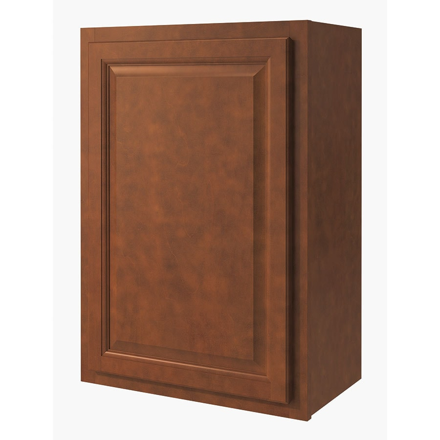 Diamond NOW Cheyenne 21-in W x 30-in H x 12-in D Saddle Door Wall Cabinet