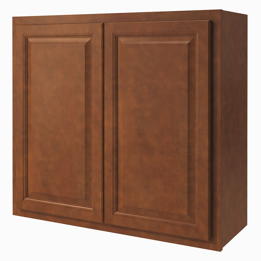 Diamond NOW Cheyenne 33-in W x 30-in H x 12-in D Saddle Door Wall Cabinet