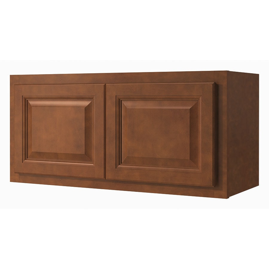 Diamond NOW Cheyenne 30-in W x 14-in H x 12-in D Saddle Door Wall Cabinet