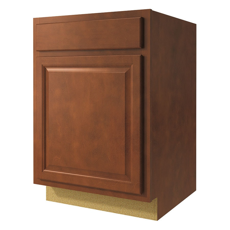 Kitchen Classics Cheyenne 21-in W x 35-in H x 23.75-in D Saddle Door and Drawer Base Cabinet