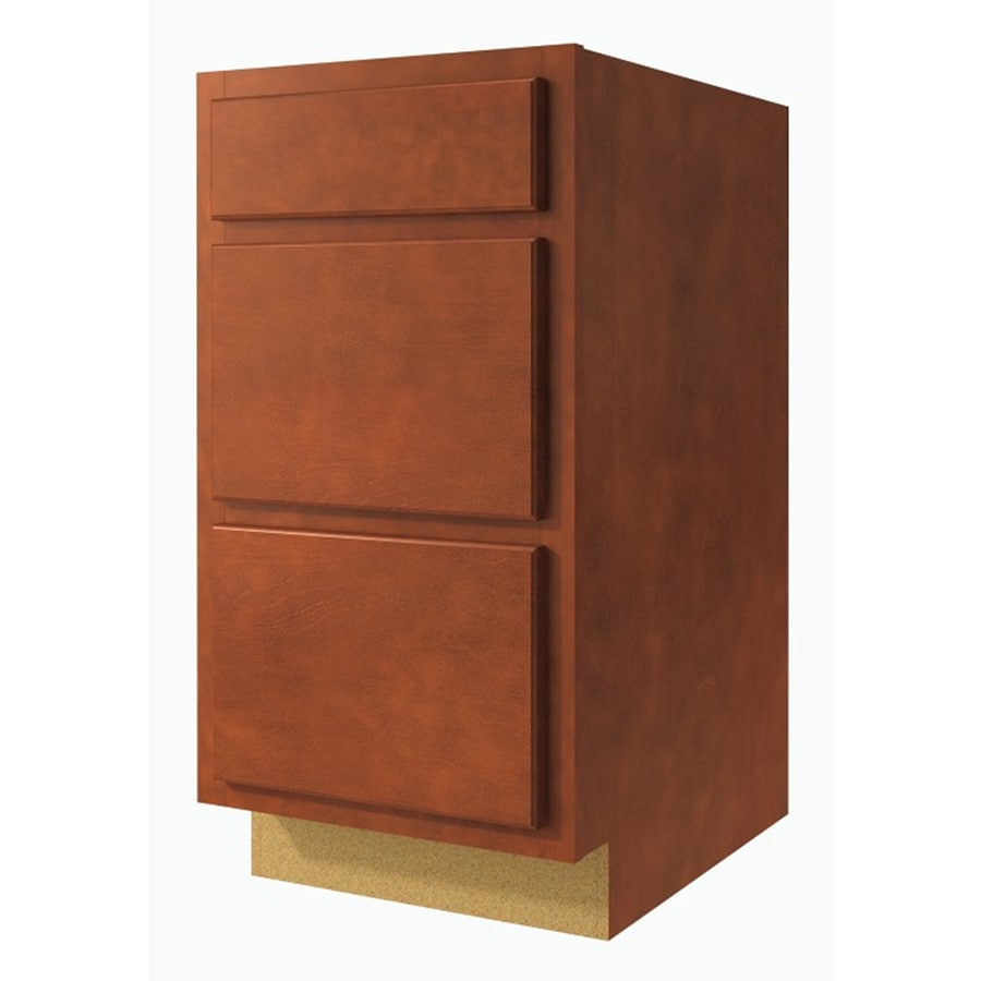 Kitchen Classics Cheyenne 24-in W x 35-in H x 23.75-in D Saddle Drawer Base Cabinet
