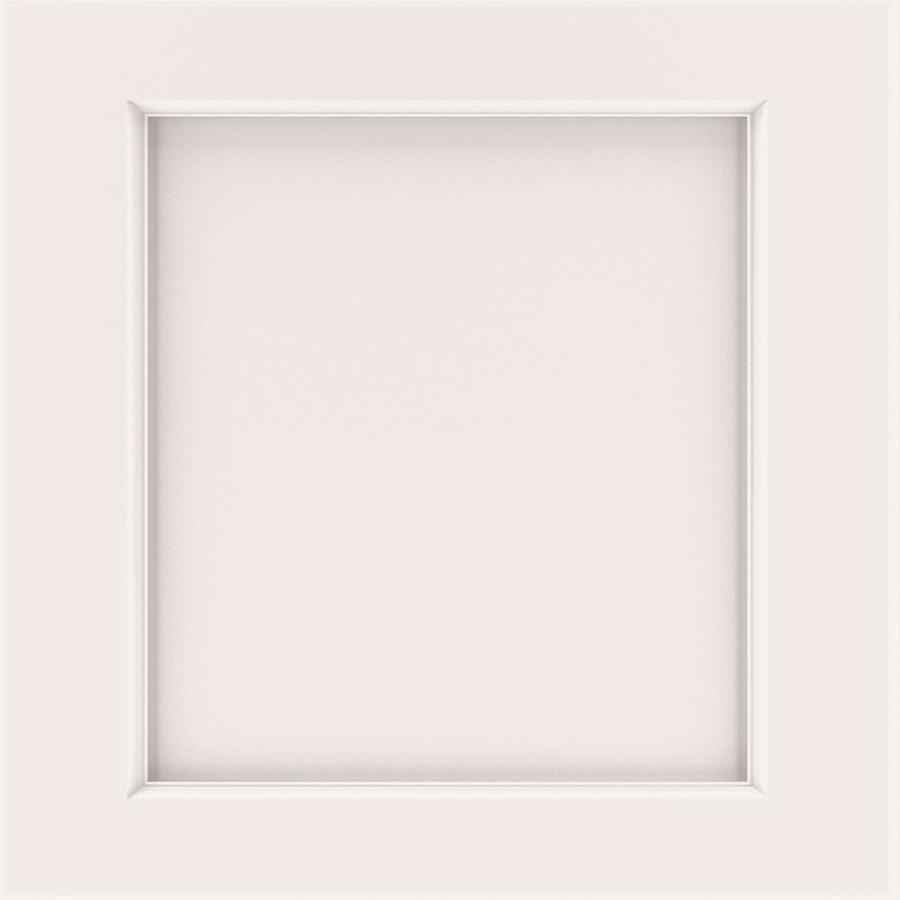 Diamond Karwin 14.75-in x 14.75-in White Painted Maple Square Cabinet Sample