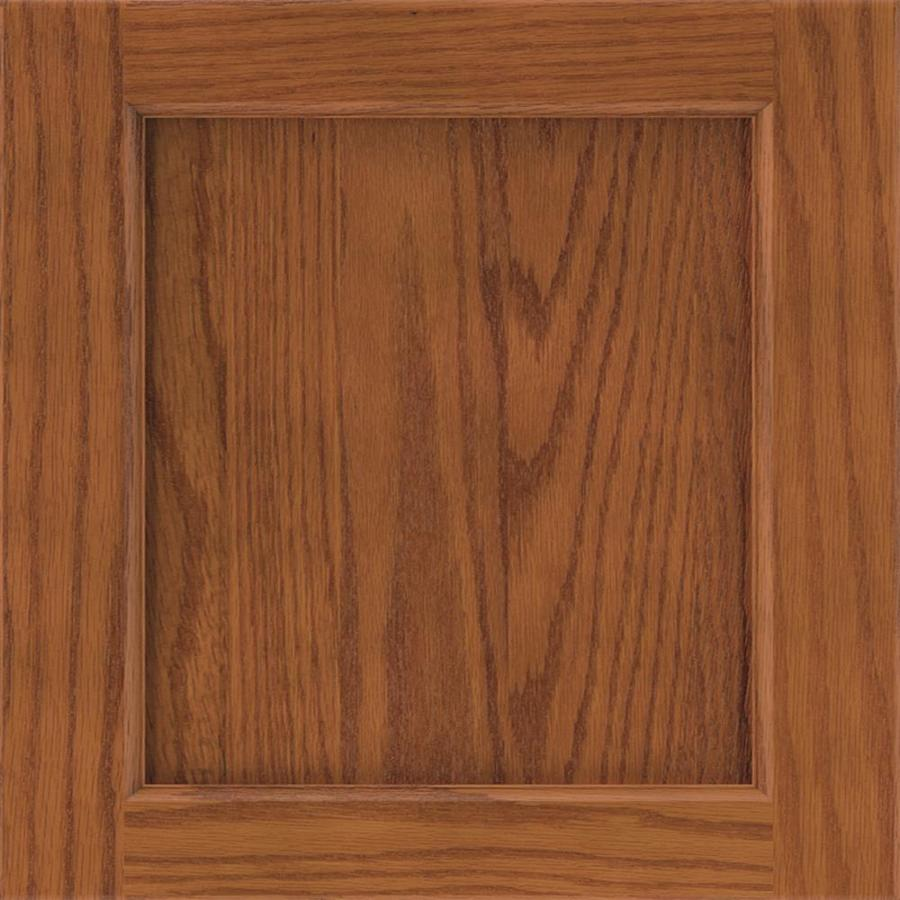 Diamond Karwin 14.75-in x 14.75-in Cattail Oak Square Cabinet Sample