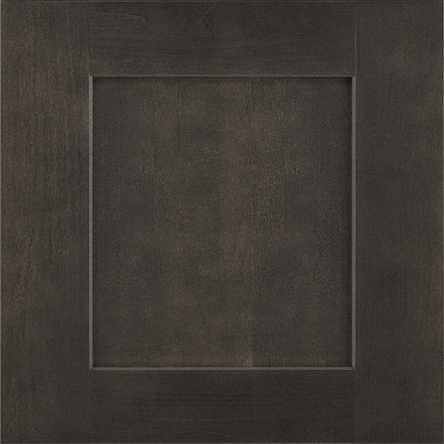 Diamond Gresham 14.75-in x 14.75-in Storm Painted Maple Square Cabinet Sample