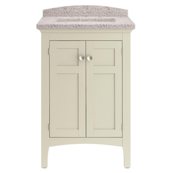Allen Roth D Ar Brisette 24 Combo In The Bathroom Vanities With Tops Department At Lowes Com