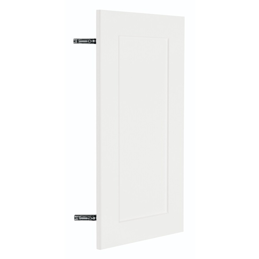 Nimble by Diamond Vanilla Shake 14.875-in W x 29.906-in H x 0.75-in D White Shaker Door Wall Cabinet